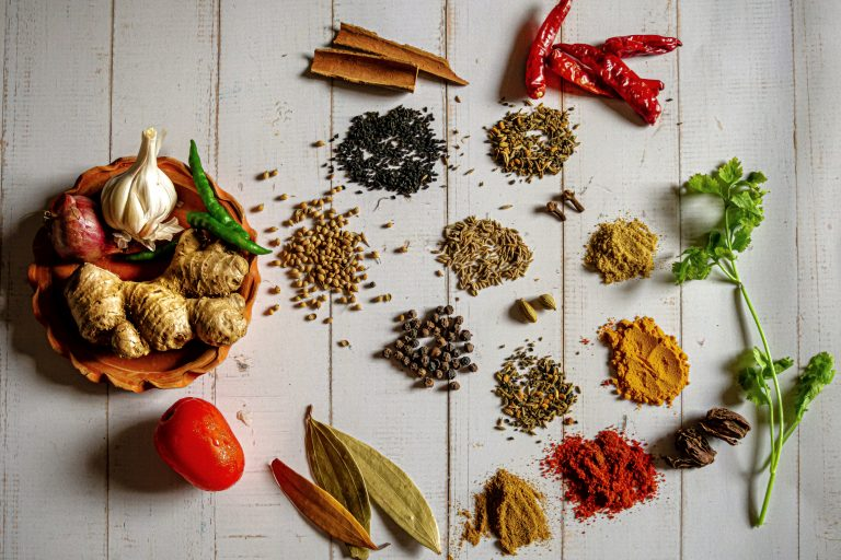 Four (4) Common Spices Used in Indian Cuisine